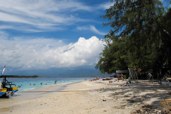 Indonesia, travel, nature, gili trawangan